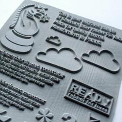 Goma personalizada para sellos